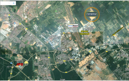 i-Synergy Industrial Park Senai Single Storey Detached Factory For Sales