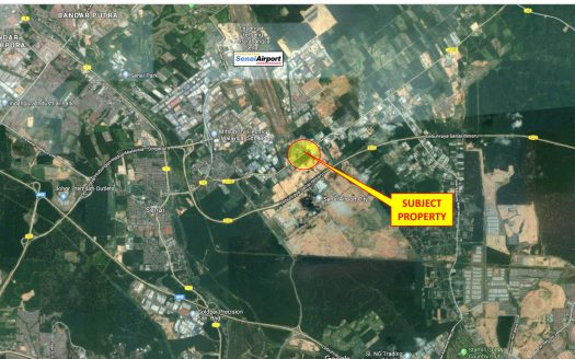 Seelong Senai Zoning Commercial Lands for Sales