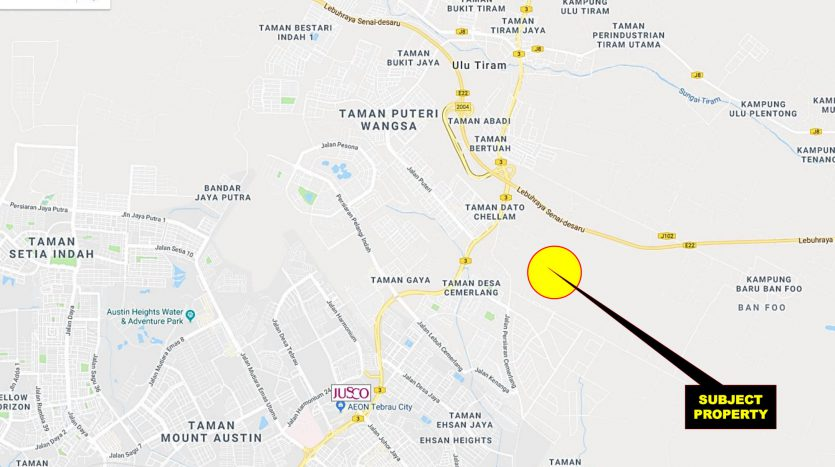 Desa Cemerlang Industrial Land for Sales