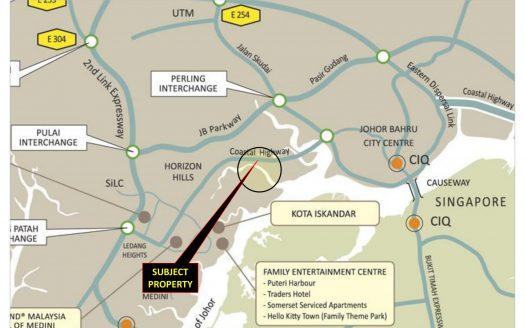 Iskandar Johor Bahru Commercial Land for Sales